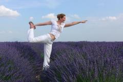 Im Lavendelfeld