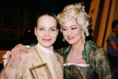 Nach der Vorstellung mit  Elīna Garanča